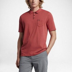 POLO HURLEY DRI-FIT LAGOS 3.0 LEGION TRACK RED