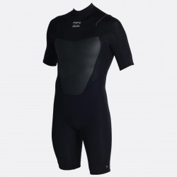 FATO DE SURF BILLABONG ABSOLUTE COMP FULLSUIT 2.2MM CHEST ZIP BLACK
