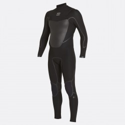 FATO DE SURF BILLABONG ABSOLUTE X 4.3MM CHEST ZIP ASPHALT