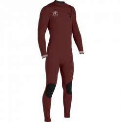 FATO DE SURF VISSLA 7 SEAS 4.3MM FULL SUIT WINE