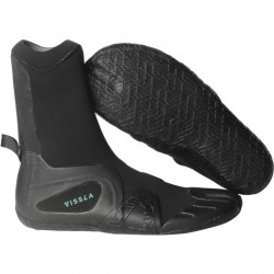 BOTAS DE SURF VISSLA 7 SEAS 3MM SPLIT TOE BOOTIE BLACK