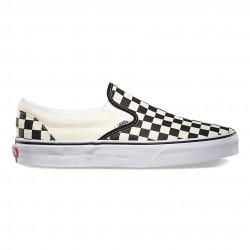 TÉNIS VANS SLIP-ON CHECKERBOARD BLACK WHITE