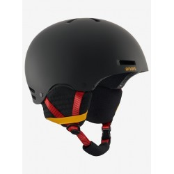 CAPACETE SNOWBOARD ANON RAIDER RIP CITY BLACK
