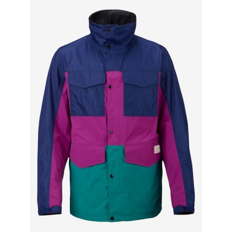 CASACO SNOWBOARD ANALOG TOLLGATE JACKET DEFLATE GATE GRAPESSED BLUE