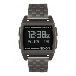 RELÓGIO NIXON BASE ALL GUNMETAL