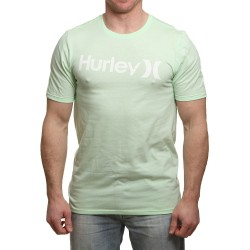 T-SHIRT HURLEY ONE&ONLY SOLID SOFT PREMIUM VAPOR GREEN