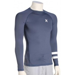 LYCRA HURLEY PRO LIGHT TOP L/S SQUADRON BLUE
