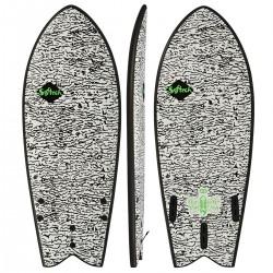 "PRANCHA DE SURF SOFTECH 4´8"" KYUSS FISH SOFTBOARD"