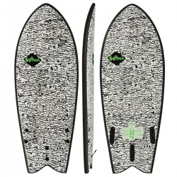 "SOFTECH 4´8"" KYUSS FISH SOFTBOARD"