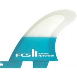 QUILHAS FCS II PERFORMER QUAD REAR SMALL SET