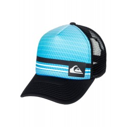 BONÉ QUIKSILVER FOAMNATION TRUCKER JN ATOMIC BLUE