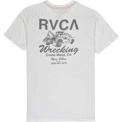 T-SHIRT RVCA WRECKING ANTIQUE WHITE