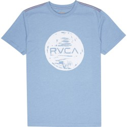 T-SHIRT RVCA MOTORS DEJA BLUE